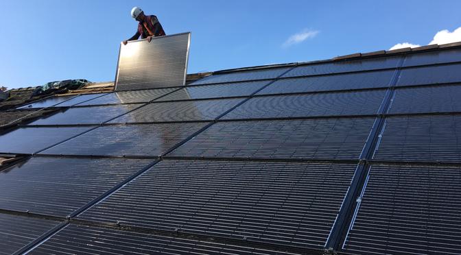 Solarsys PV Indachanlage