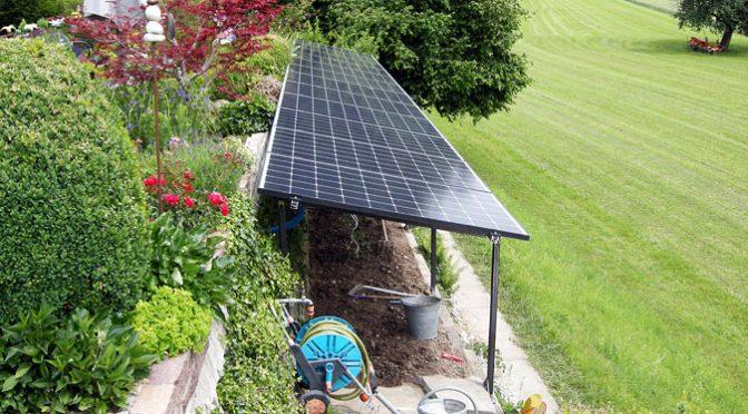 PVA als Regenschutz und Energiespender