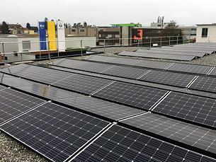 Solarsys Flachdachanlage Stäfa